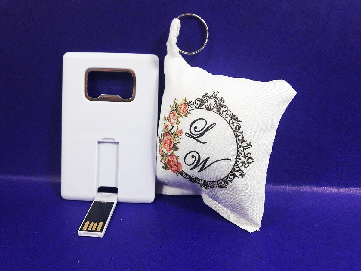 Convite Padrinhos Abridor de garrafa 4 GB + almochaveiro