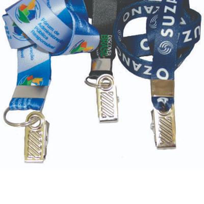 Cordão personalizado para Crachás - Jacaré