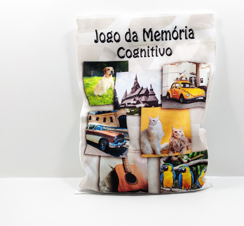 Jogo da memória  Cognitivo para Idosos 15 pares
