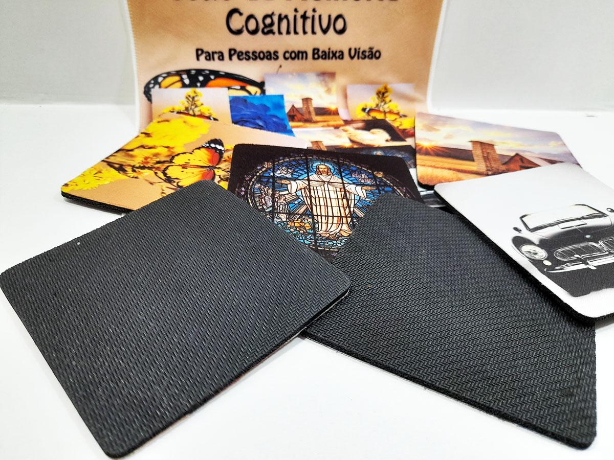 Jogo da Memória Cognitivo para idosos com baixa visão 10 pares