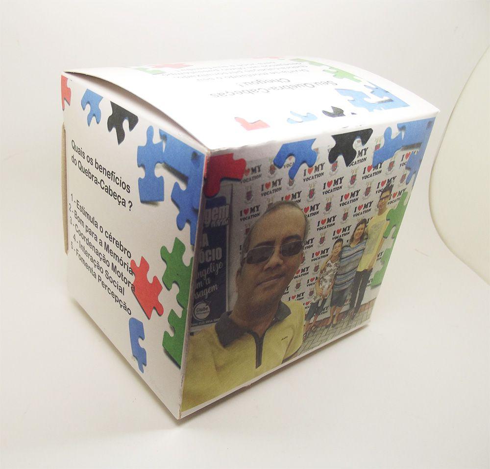 kit 10 Quebra-Cabeças Personalizados para empresas