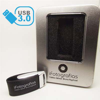 Kit Elegance Black USB 3.0 -  4GB, 8GB E 16GB