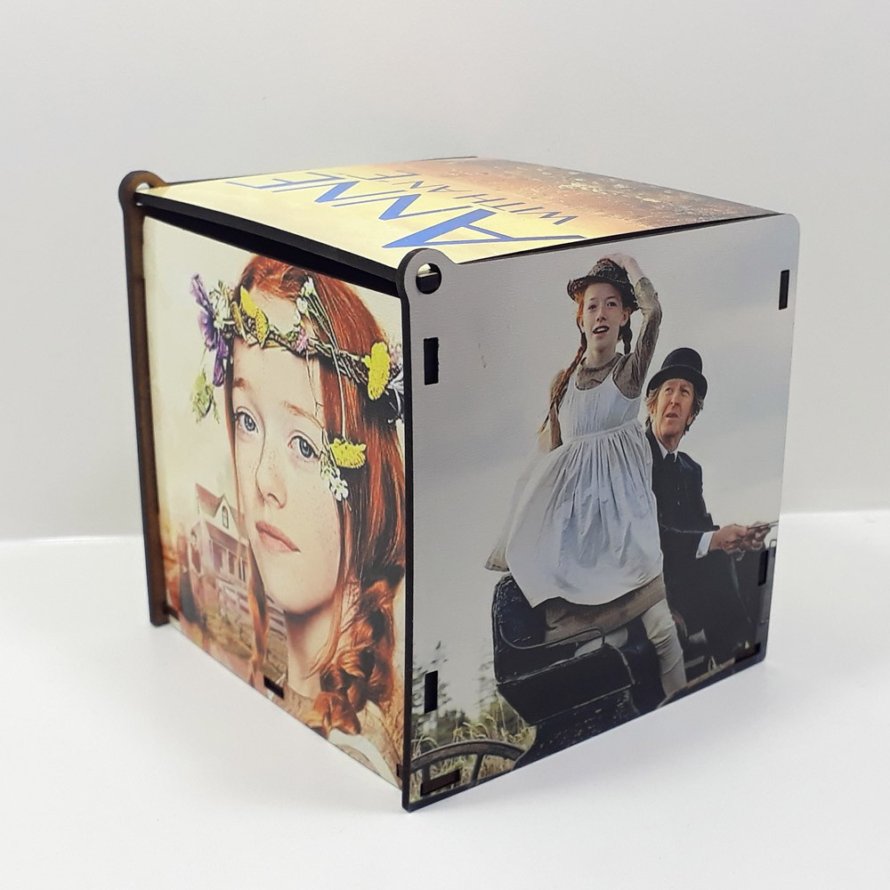 Kit Especial Anne Quebra-cabeça com caixa MDF + caneca personalizada