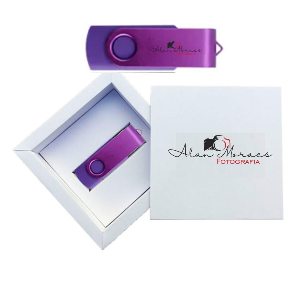 Kit Essence Colors White  8 GB - Pendrives para Fotógrafos Personalizados