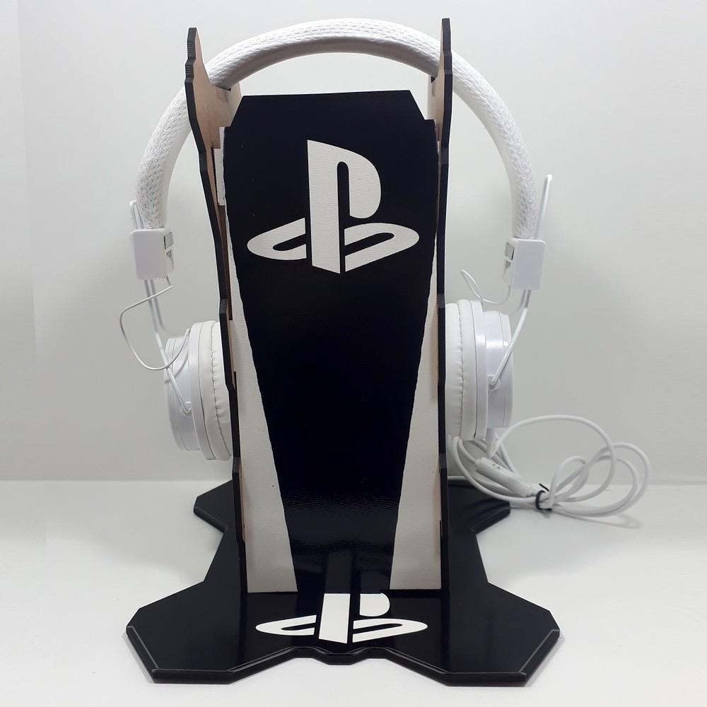 Kit Gamers Spider 10 - Suporte para controle e headset + Fone de ouvido
