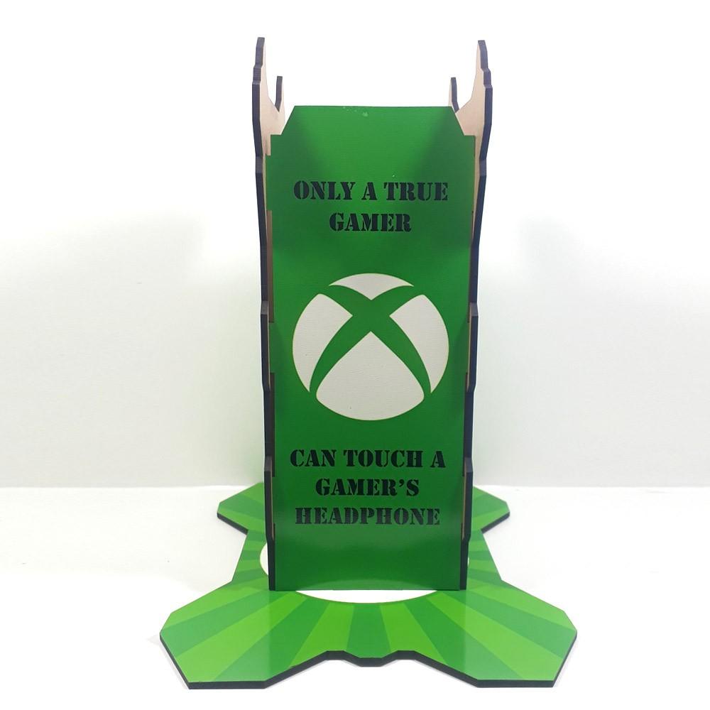 Kit Gamers Spider Xbox - Suporte para controle + suporte para headset
