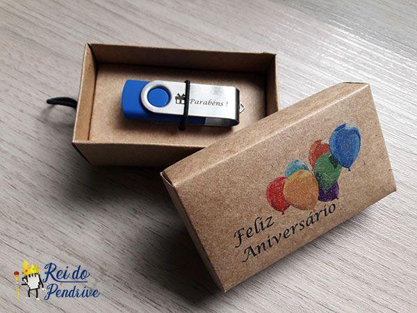 Kit Kraft Aniversário de 4  GB - Pendrives Para Fotógrafos