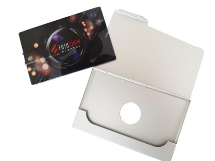 Kit Pencard com estojo de metal -4 GB, 8 GB e 16 GB -  parceria Cameraclub