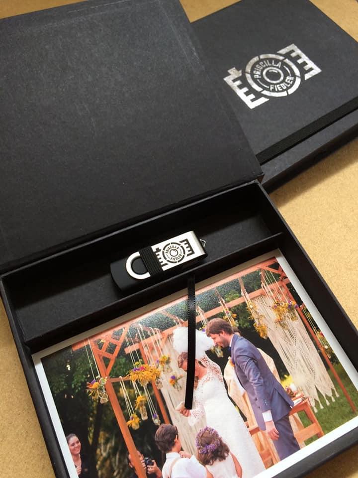Kit Pendrive F-Black  - Pendrives para Fotógrafos - 4, 8 e 16 GB