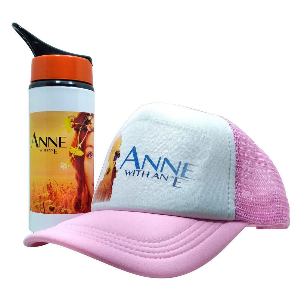 Kit Presente Anne with an E Squezze e Boné personalizado