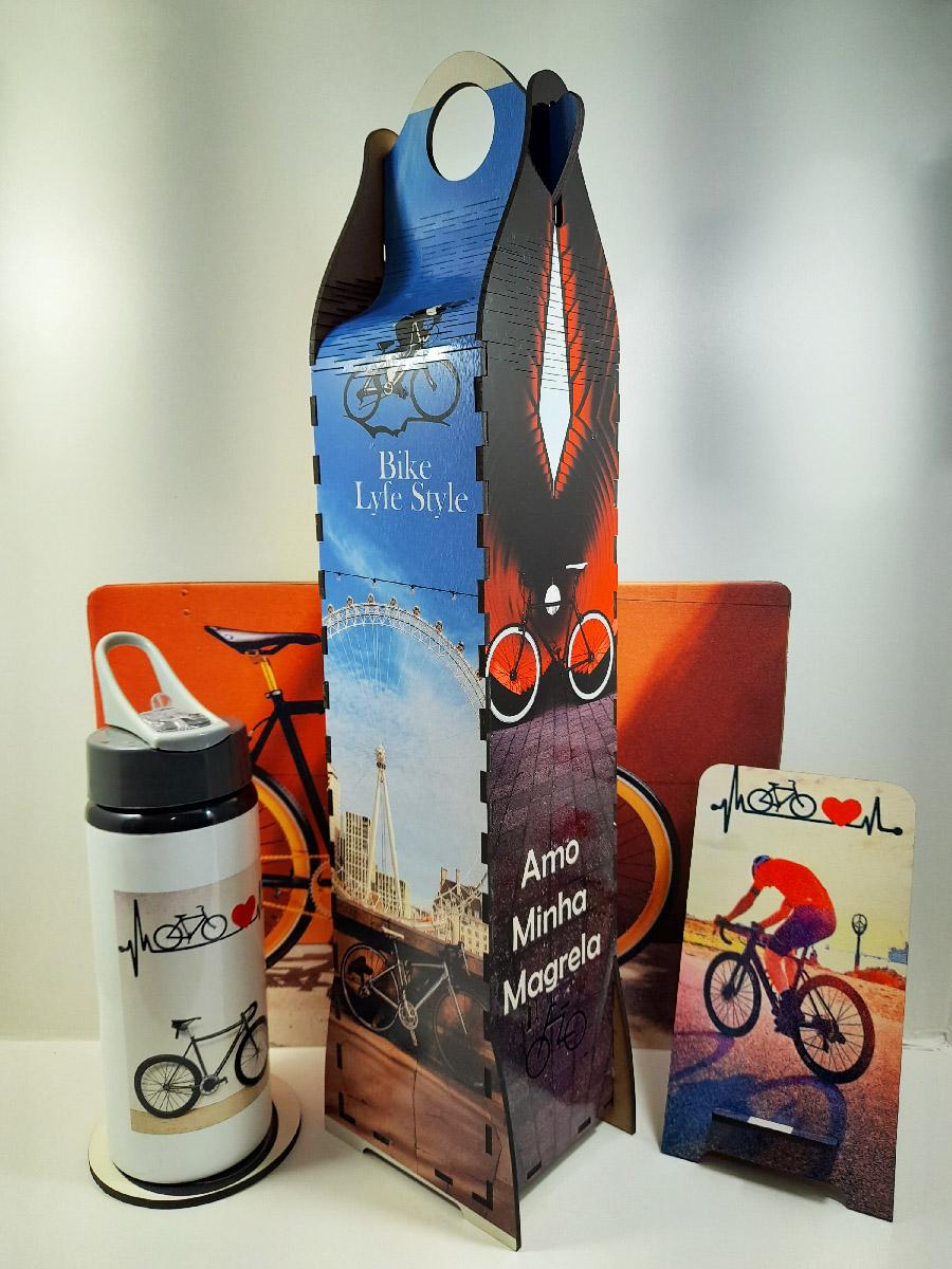 Kit Presente Especial para Ciclistas Caixa Surpresa Torre Decorativa