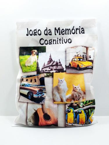 Kit Quebra Cabeças Pets 24 Peças Para Idosos + Jogo Memória