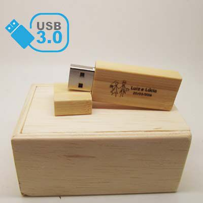 Kit Wood Baby USB 3.0 -  8GB e 16GB