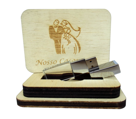 Kit Wood Black Rustico II De 8 GB