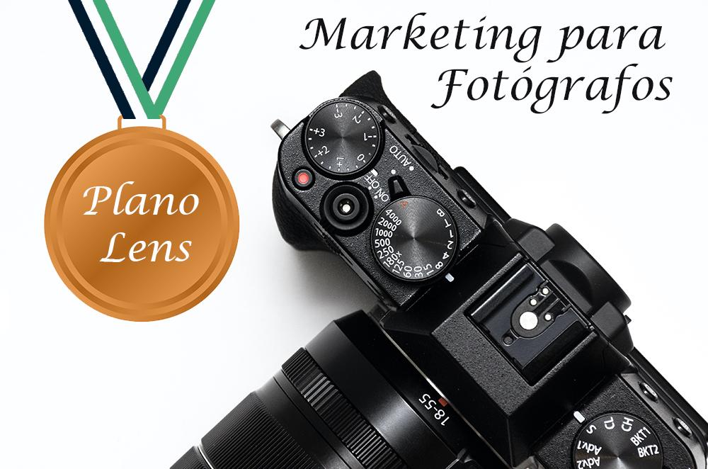 Linha Start para Fotógrafos - Plano Lens