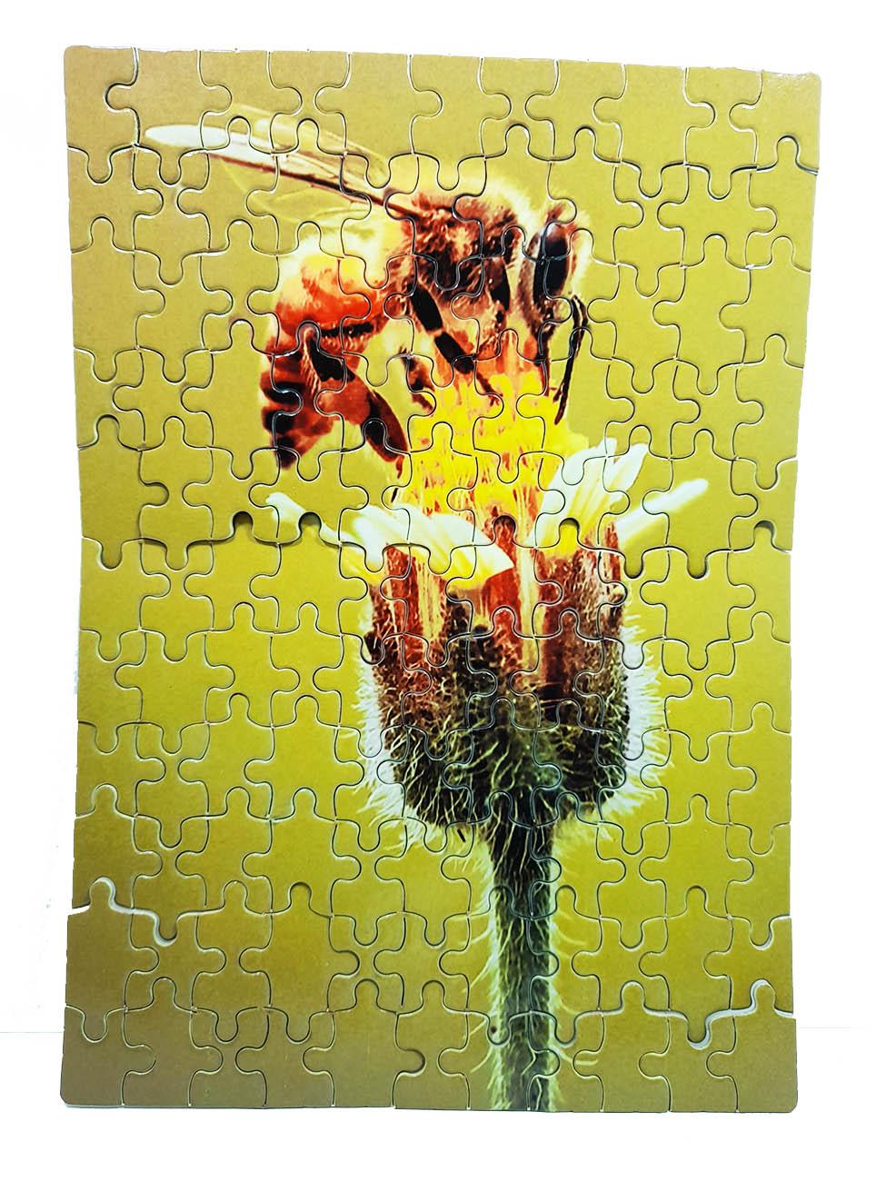 Mini quebra-cabeça Abelhas de 120 peças