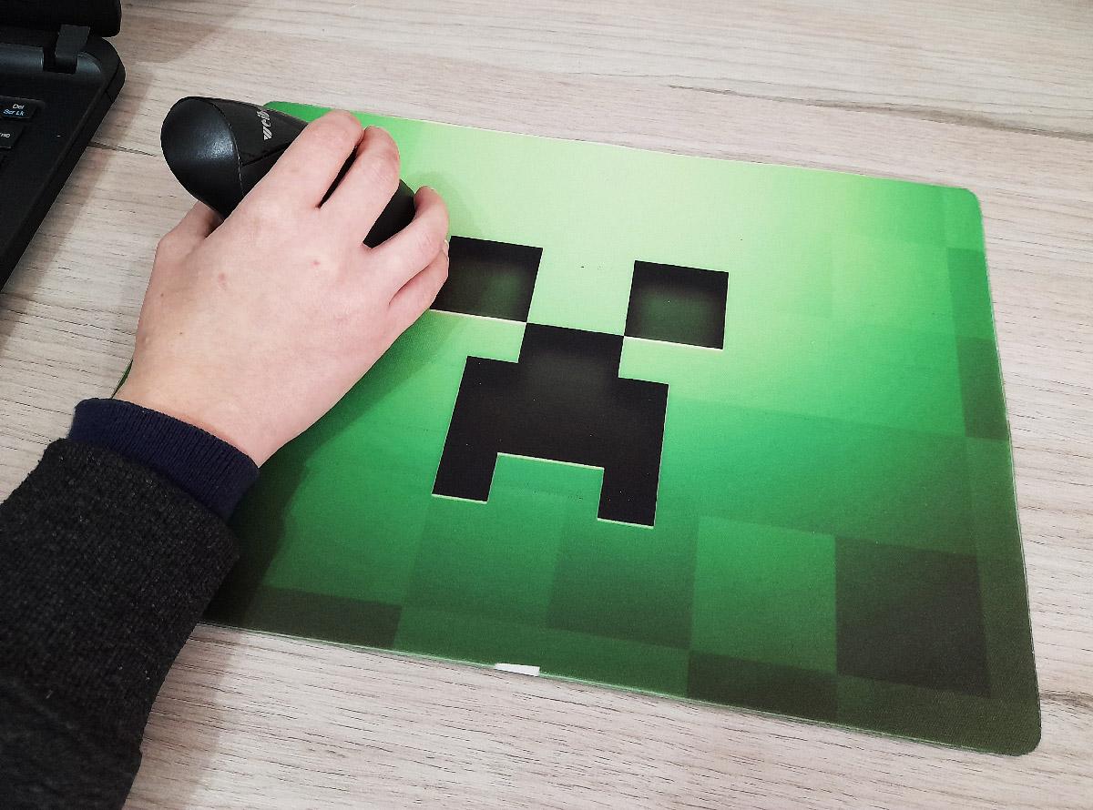 Mouse Pad Gamer Minecraft  25 x 35 cm Personalizado
