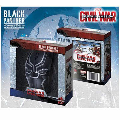 Mouse sem fio Pantera Negra - Guerra civil