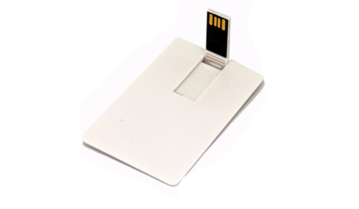Pen drive Cartão 8 GB para personalizar (pencard)  - 50 unidades