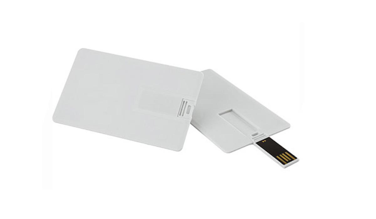 Pen drive Cartão 8 GB para personalizar (pencard)  - 5 unidades