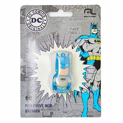 Pen Drive Dc Batman Clássico 8GB USB Multilaser - PD093 30 e 50 peças