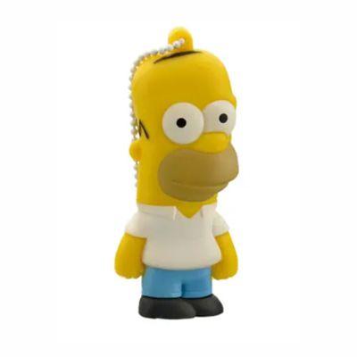 Pen Drive Homer Simpsons 8GB USB Multilaser - PD070 30 e 50 peças
