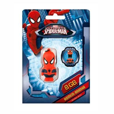 Pen Drive Marvel Homem Aranha 8GB USB Multilaser - PD084 30 e 50 peças