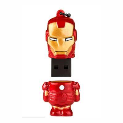 Pen Drive Marvel Vingadores Homem De Ferro 8GB USB Multilaser - PD081 30 e 50 peças