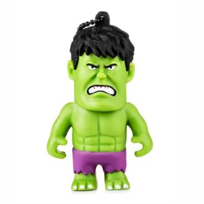 Pen Drive Marvel Vingadores Hulk 8GB USB Multilaser - PD082 30 e 50 peças