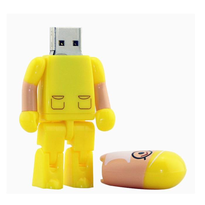 Pen Drive Médico Cirurgião Amarelo  4, 8 , 16 e 32 GB - Importado