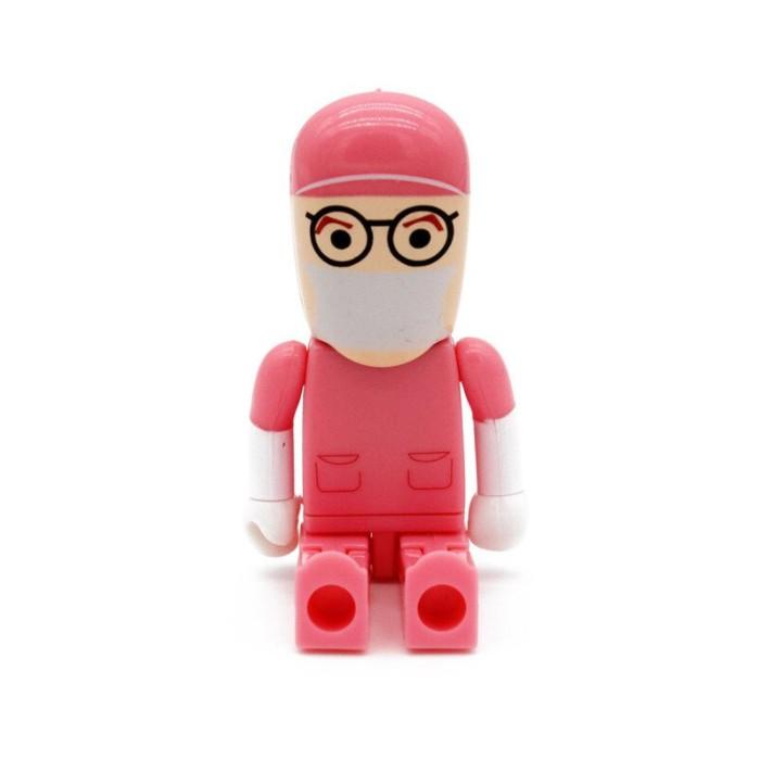 Pen Drive Médico Cirurgião Uniforme Rosa  4, 8 , 16 e 32 GB - Importado