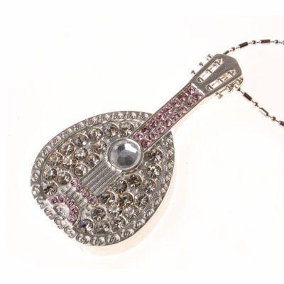 Pendrive banjo joia  - MUS02 - Pendrive Personalizado - 8, 16, 32 GB