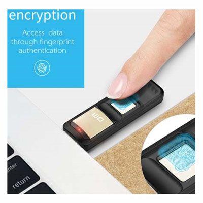 Pendrive Biométrico DM Fingerprint De 32 GB