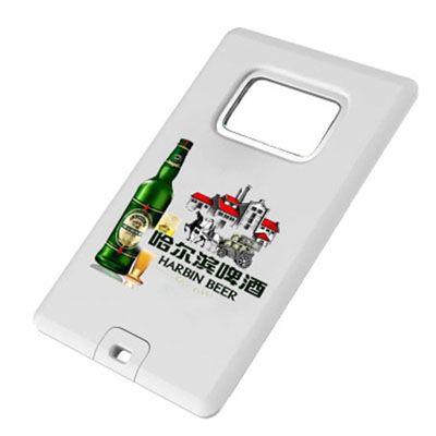 Pendrive cartão abridor de garrafa P195 de 4GB