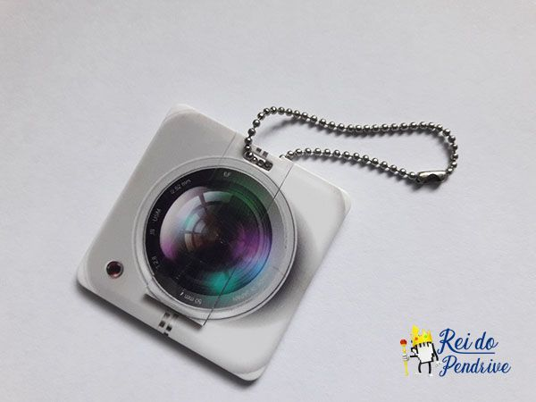 Pendrive cartão lente de camera 4 GB - Pronta entrega