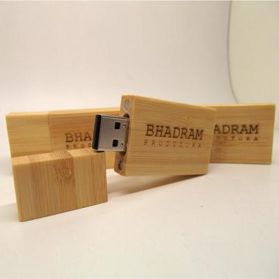 Pendrive Classic Wood 4 GB, 8 GB e 16 GB
