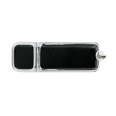 Pendrive Couro personalizado modelo C242 - 4 GB, 8 GB e 16 GB