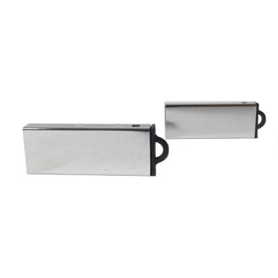 Pendrive Cromado Classic - 4 GB , 8 GB e 16 GB  USB 2.0