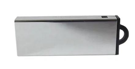 Pendrive Cromado Classic - 4 GB , 8 GB e 16 GB USB 2.0 - Parceria Cameraclub
