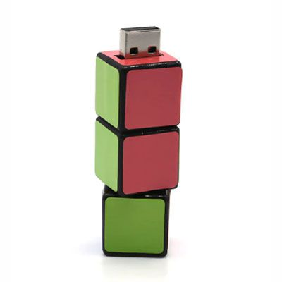 Pendrive cubo magico - Pendrive Personalizado - 8, 16 E 32 GB