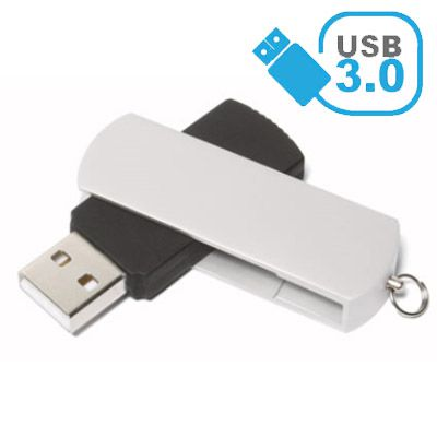 Pendrive de metal A144 USB 3.0 - Super Speed -  8 GB, 16GB e 32GB