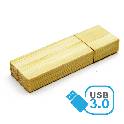 Pendrive de madeira (bambu) MM320 USB 3.0 - Super Speed -  8 GB, 16GB e 32GB