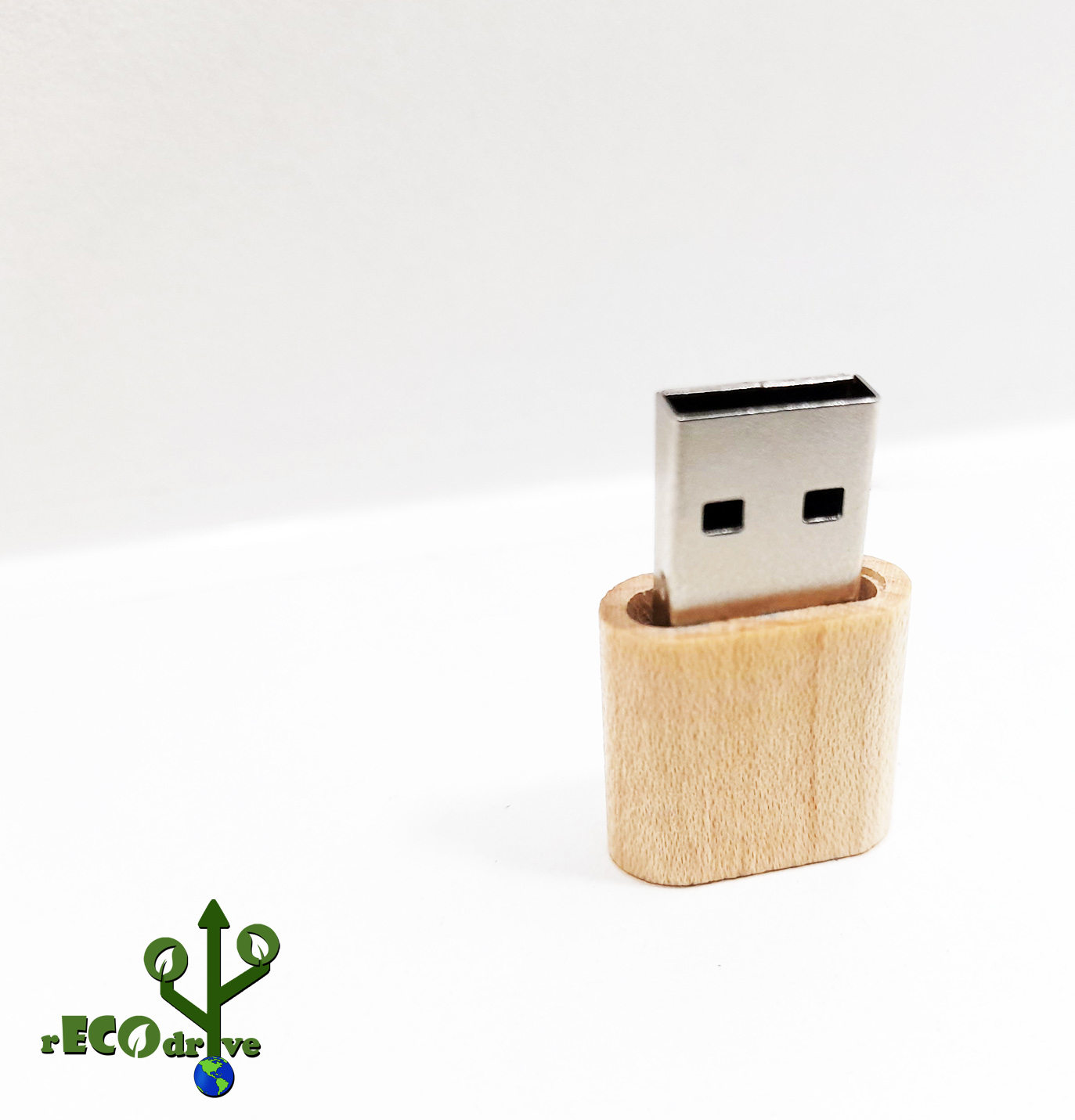 Pendrive Ecológico Fit Slim de 8 GB e 16 GB  - Linha rECOdrive