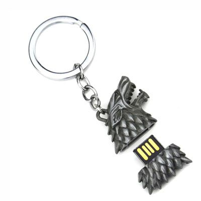 Pendrive Game of Thrones - Direwolf - Pendrive Personalizado - 8 GB