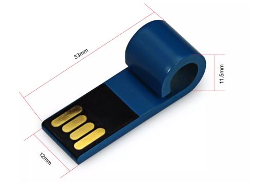 Pendrive Importado Micro chaveiro 4 GB - de 100 peças