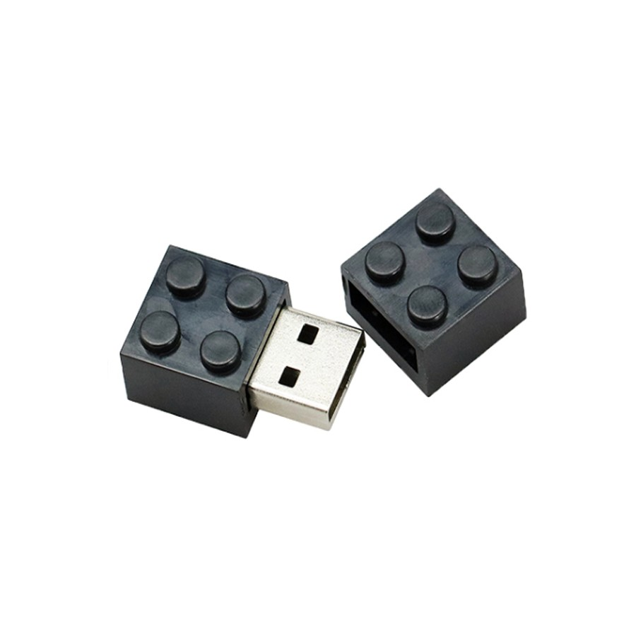 Pendrive Lego Blocos Preto de 32 GB