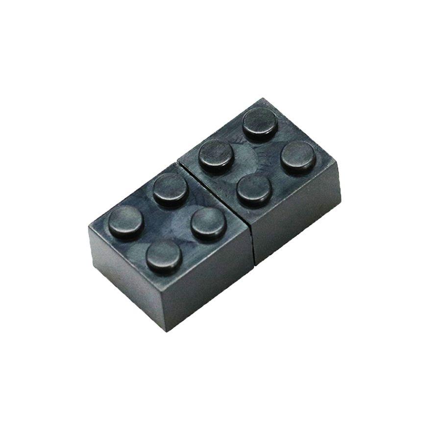 Pendrive Lego Blocos Preto  Personalizado
