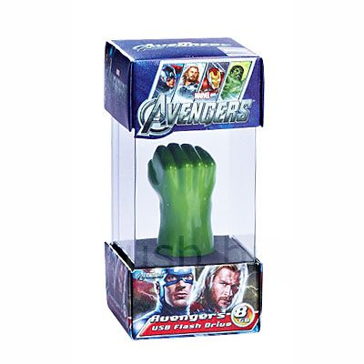 Pendrive mão Hulk 8 G - Original Infothink