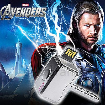 Pendrive martelo Thor 8 GB - Original Infothink