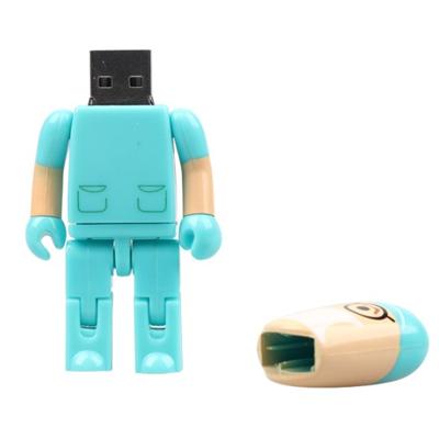 Pendrive Médico Verde personalizado - 4 GB, 8 GB e 16 GB